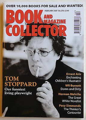 BOOK & MAGAZINE COLLECTOR #278 - 2/2007 - Tom Stoppard, Posy Simmonds