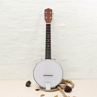 4-string Banjo Exquisite Professional Wood Alloy