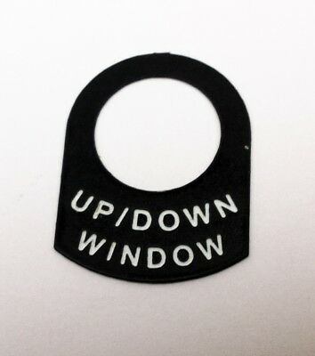WINDOW UP/ DOWN electric  Classic race rally car IVA lucas switch  tag