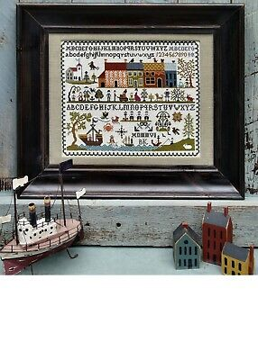 Sampler Chart  NEW ENGLAND SAMPLER from The Sampler Co. Counted Cross Stitch NEW