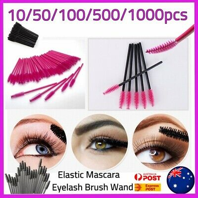 Disposable Mascara Wands Eyelash Brushes Applicator Lash Extension Brush Wand AU