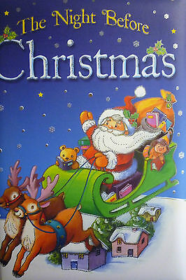 The Night Before Christmas Padded Colourful Story Book