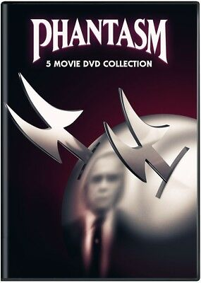 Phantasm 5 Movie DVD Collection Reggie Bannister Reggie Bannister, [R/DVD] NEW