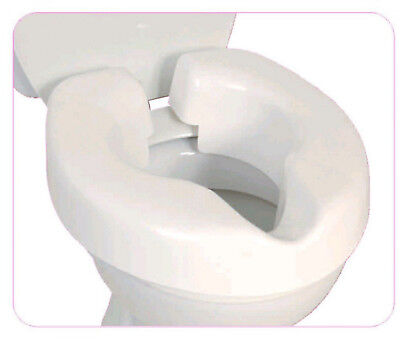 Novelle Portable Clip-On Raised Toilet Seat Easy to Fit
