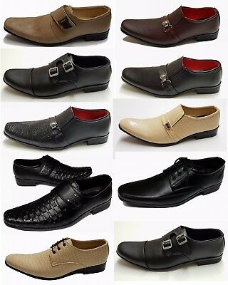 Shumaxx Men's Shoes Stylish Footwear New design formal shoes padded insole AM