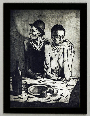 framed giclee 6.8X8.8/&10X13,6 poster Pablo Picasso death torero canvas print