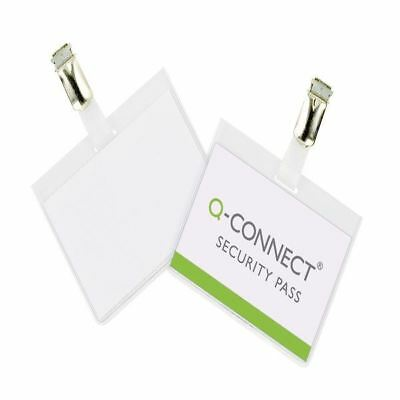 Q-Connect Security Badge 60x90mm (Pack of 25) KF01562 [KF01562]