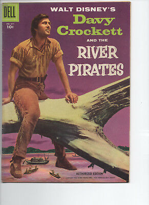 #671 - Walt Disney's Davy Crockett and the River Pirates (1955, Dell)