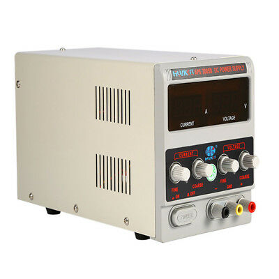Adjustable LED Regulated Variable DC Power Supply Unit Lab Grade 30V 5A 220V UK