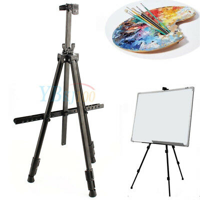 Folding Painting Easel Tripod Stand Display Telescopic Artist Field Studio + Bag