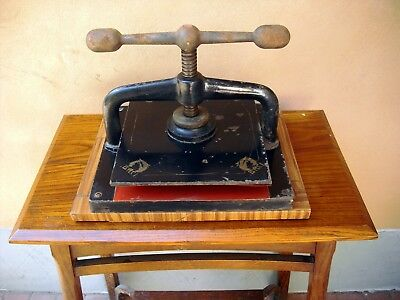 Antique Italian Binding Press, early XX century