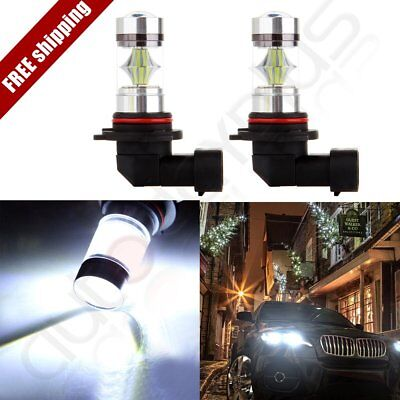 2x High Power Xenon New 9006 HB4 Cree LED 12 SMD Fog Driving Light 60W 6000LM