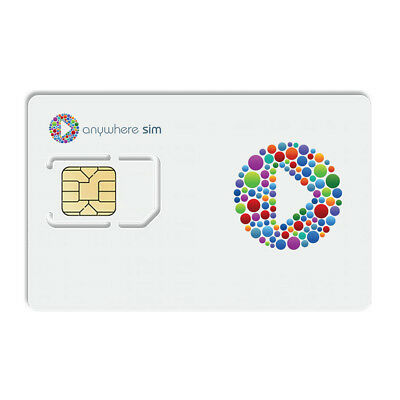 Anywhere Sim Card with £60 Credit
