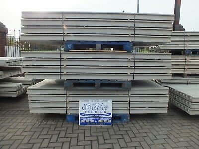 SLOTTED CONCRETE FENCE POSTS (4.5ft-12ft)