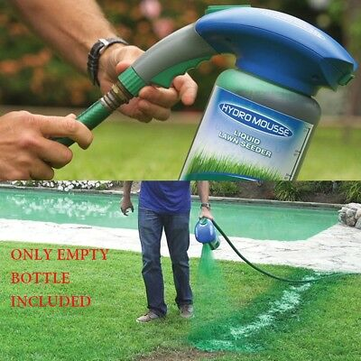 Hydro Mousse Liquid Lawn Rescue Covers up to 200 square feet Grass Grower