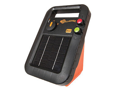 Gallagher S10 0.1 Joule Solar Fence Charger