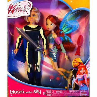 Winx Club Deluxe Fashion Doll Bloom & Sky Exclusive 2 Pack (USA Version)