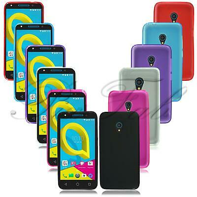 For Alcatel U5 4G 5044D 3G 4047X HD 5047Y New Clear Gel Rubber Phone Case Cover
