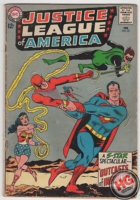 Justice League of America #25 2/64 JLA Silver Age DC Comics KRAAD THE CONQUERER
