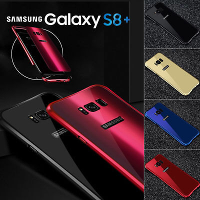 Samsung Galaxy S9 S8 Plus Shockproof Case Cover Ultra Thin Slim Metal Full Back