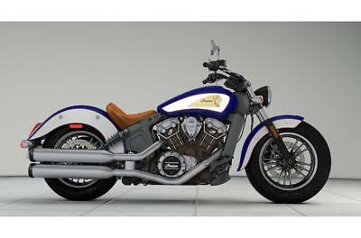 2018 Indian Scout 2-Tone Blue and White - 5 YEARS WARRANTY - 1 YEARS RAC