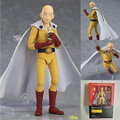 Figma 310 One Punch Man Saitama action figure Max Factory NEW IN BOX CHN VER