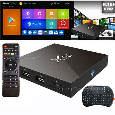 X96 Smart TV BOX Android Amlogic S905X Quad Core 2GB+16GB 4K Wifi +Keyboard LOT