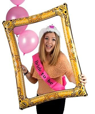 Giant Inflatable Blow Up Selfie Photo Frame - Photo Booth Novelty Fun Party