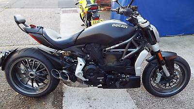 Ducati X Diavel 1262cc 2016 reg bike 1502 miles from new superb