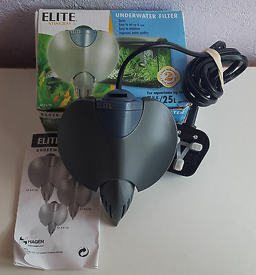 Elite Stingray 5 Underwater Filter, Fish Tank, Boxed With Instructions.