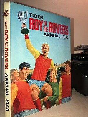 Tiger Roy Of The Rovers Football Annual 1968