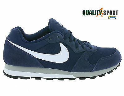 SCARPE N 43 Uk 85 NIkE MD RUNNER 2 SNEAKERS BASSE 749794410