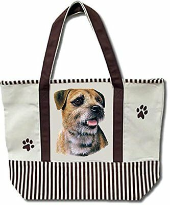 Border Terrier Pet Shopping Tote