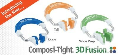Garrison Composi-Tight 3D Fusion Rings Set FXR01 Short & Tall & Wide Prep