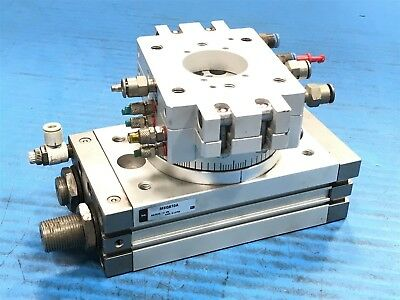Used SMC MSQB70A Pneumatic Rotary Actuator MSQB 70A (T4)