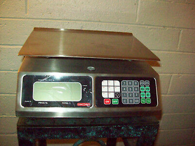 TORREY LPC40L Electronic Price Computing Scale, Rechargeable Battery, Stainless.