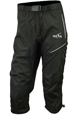 3/4 MTB Cycling Shorts, Mountain Biking, Off Road, Lycra, Padded, Thermal, Men