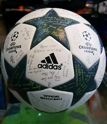 Adidas UEFA Champions League 2017 thermal bonded A+ Soccer Match Ball