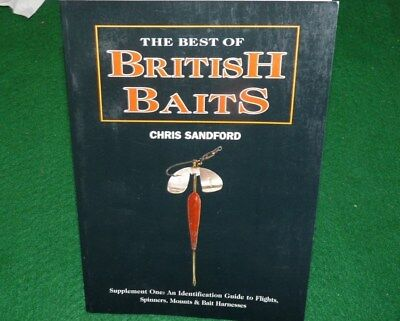 vintage lure ref book The best of British baits C Sandford 1st Supplement 2001