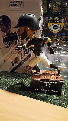 Milwaukee brewers sga Jonathan villar bobblehead 2017
