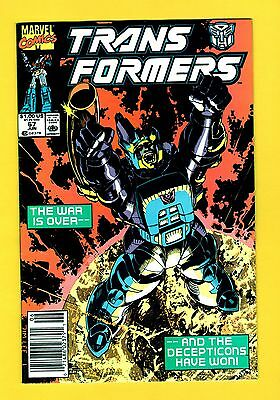 Marvel Comics Transformers_(1984)_#67 Newsstand_FN 6.0_Early Jim Lee Cover