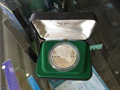 1978 Tokelau $1 Tahi Tala Sterling Silver Proof QEII Coin Original Box