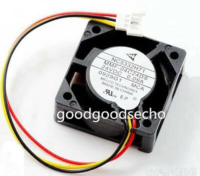 Tracking ID For MITSUBISHI NC5332H71 MMF-04C24DS-MCA Fan 40mm x15mm 24V 0.09A