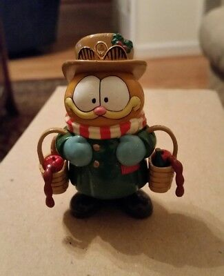 Enesco Garfield Scrooge with the Spirit Christmas ornament hard to find