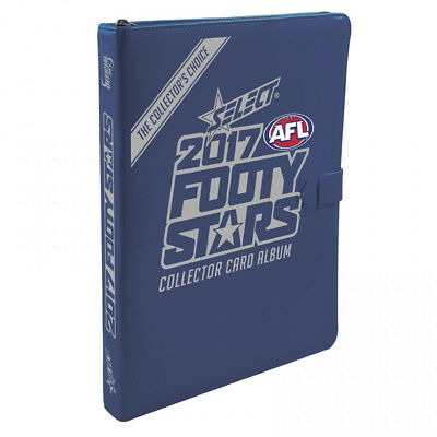 2017 Afl Select Footy Stars Album Binder Folder With Two Packs Of Cards
