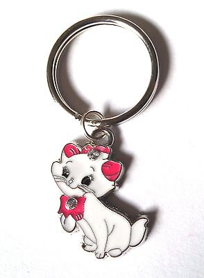 """""""Marie CAT"""" Key Chain (from """"Aristocats"""" movie) 2 STYLES - US Seller FREE SHIP"""