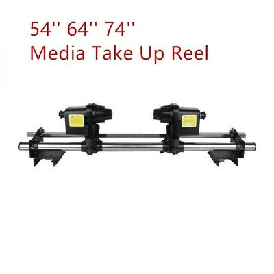 SUPER Automatic Media Take up Reel Two Motors for Mimaki /Roland /Epson/Mutoh