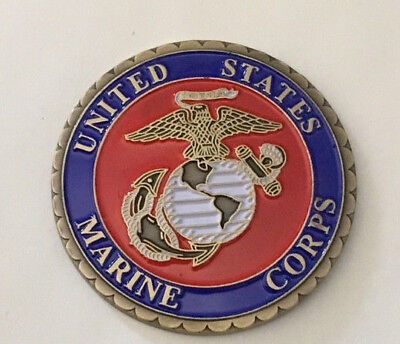 United States Marine Corps Challenge Coin .    H030802