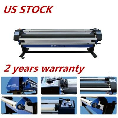 "USA 110V 67"" Economical Full-auto Wide Format Cold Laminator with Heat Assisted"