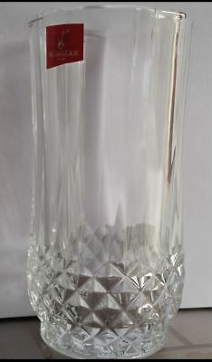 HIGH BALL TUMBLER GLASSES DRINKING WATER BEER PARTY GIFT CAFE BAR- SET of 3